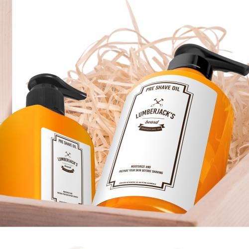 Pre-shave oil etiquette